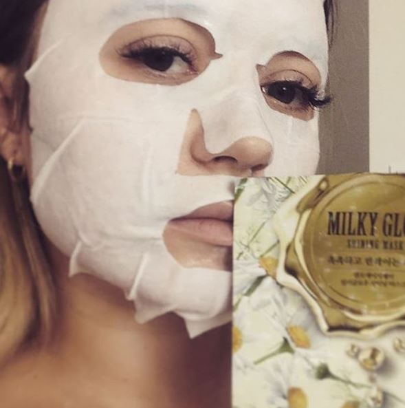 NOHJ Milky Glow Mask Pack Shining